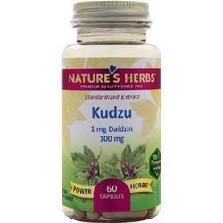 Nature's Herbs Kudzu - Standardized Extract 60 caps