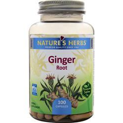 NATURE'S HERBS Ginger Root 100 caps