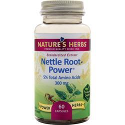 NATURE'S HERBS Nettle Root - Power 60 caps
