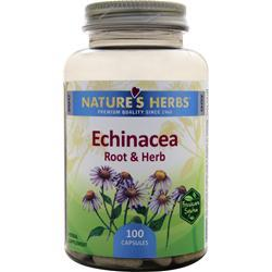 NATURE'S HERBS Echinacea Root & Herb 100 caps
