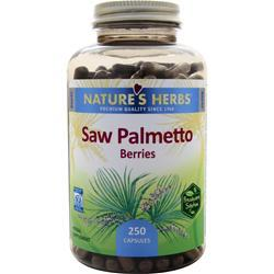 NATURE'S HERBS Saw Palmetto Berries 250 caps