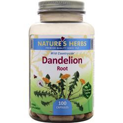 Nature's Herbs Dandelion Root 100 caps
