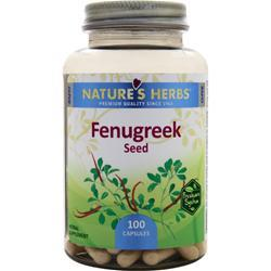 Nature's Herbs Fenugreek Seed 100 caps