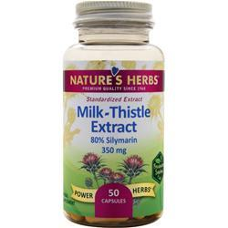 Nature's Herbs Milk Thistle - Standardized Extract 50 caps