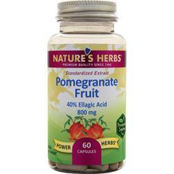 Nature's Herbs Pomegranate Fruit 60 caps