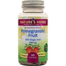 Nature's Herbs Pomegranate Fruit 60 caps