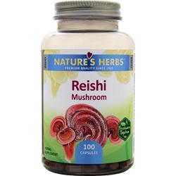 NATURE'S HERBS Reishi Mushroom 100 caps
