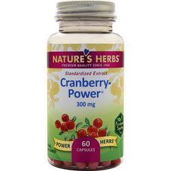 Nature's Herbs Cranberry - Power  BEST BY 1/17 60 caps