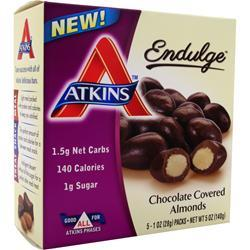 Atkins Endulge Candy Chocolate Covered Almonds 5 pckts