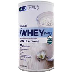 BIOCHEM Organic 100% Whey Protein Vanilla 12.7 oz