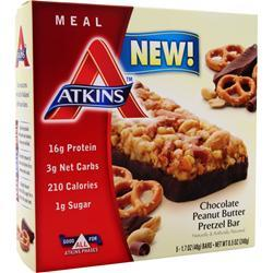 ATKINS Meal Bar Chocolate PB Pretzel 5 bars