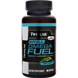 TWINLAB Krill Omega Fuel 50 sgels