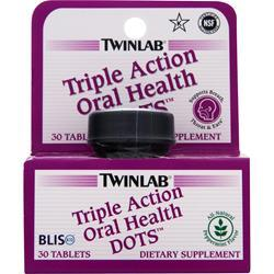 TWINLAB Triple Action Oral Health DOTS 30 tabs
