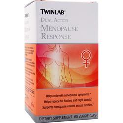 TWINLAB Dual Action Menopause Response 60 vcaps
