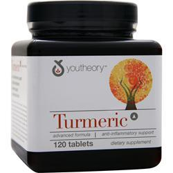 YOUTHEORY Turmeric 120 tabs