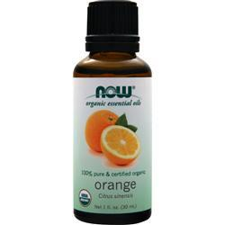 Now Organic Essential Oils - Orange 1 fl.oz