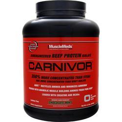 MUSCLEMEDS Carnivor Chocolate Mint 4.5 lbs