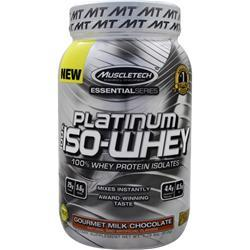 Muscletech Essential Series - Platinum 100% Iso Whey Gourmet Milk Chocolate 1.79 lbs