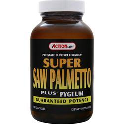 ACTION LABS Super Saw Palmetto plus Pygeum 100 caps