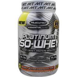 Muscletech Essential Series - Platinum 100% Iso Whey PB Chocolate Twist 1.79 lbs