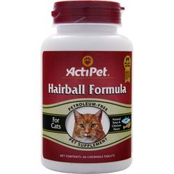 ACTIPET Hairball Formula Natural Tuna & Chicken 60 tabs