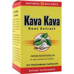 NATURAL BALANCE Kava Kava Root Extract 60 vcaps