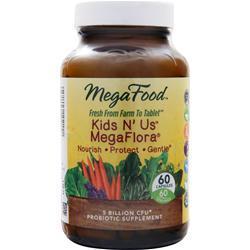 MEGAFOOD Kids N' Us Megaflora 60 caps