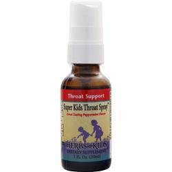 HERBS FOR KIDS Super Kids Throat Spray Peppermint 1 fl.oz