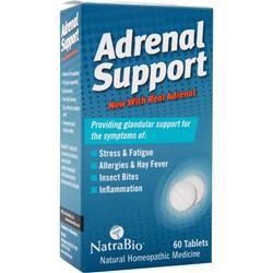 NATRABIO Adrenal Support 60 tabs