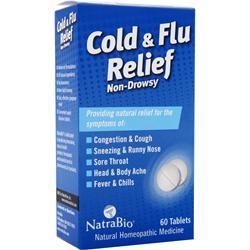 Natrabio Cold & Flu Relief 60 tabs