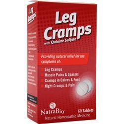 Natrabio Leg Cramps with Quinine Sulfate 60 tabs