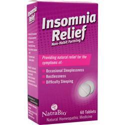 NATRABIO Insomnia Relief 60 tabs