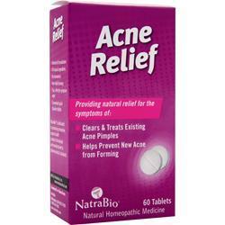 Natrabio Acne Relief 60 tabs