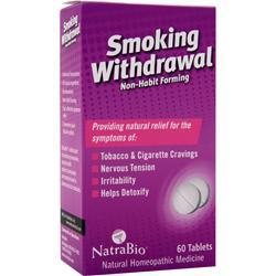 NATRABIO Smoking Withdrawal Non-Habit Forming 60 tabs