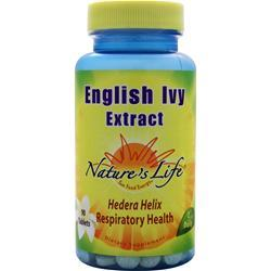 NATURE'S LIFE English Ivy Extract 90 tabs