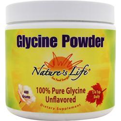 NATURE'S LIFE Glycine Powder Unflavored 400 grams