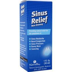 Natrabio Sinus Relief - Non-Drowsy Liquid 1 fl.oz