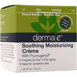 DERMA-E Smoothing Moisturizing Creme 2 oz