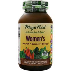 MEGAFOOD Women's Multivitamin 180 tabs