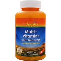 Thompson Multi-Vitamins with Minerals 120 tabs