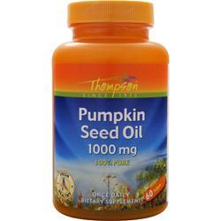 THOMPSON Pumpkin Seed Oil (1,000mg) 60 sgels
