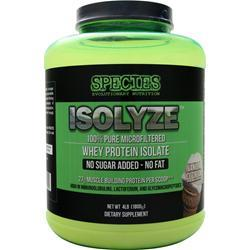 SPECIES Isolyze Vanilla Ice Cream 4 lbs