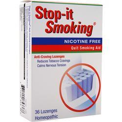 Natrabio Stop-It Smoking Nicotine Free 36 lzngs