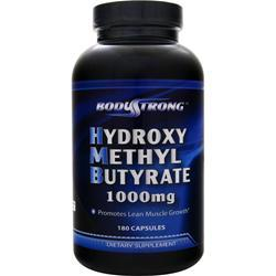 BodyStrong Hydroxy Methyl-Butyrate 180 caps