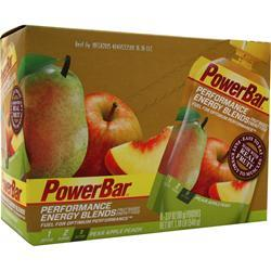 PowerBar Performance Energy Blends Peach Apple Pear 6 pckts