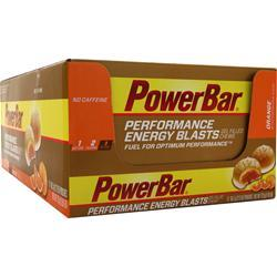 PowerBar Performance Energy Blasts Orange 12 pckts