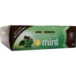 GENISOY Energy Bar Crispy Chocolate + Mint 12 bars
