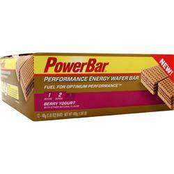 PowerBar Performance Energy Wafer Bar Berry Yogurt 12 bars