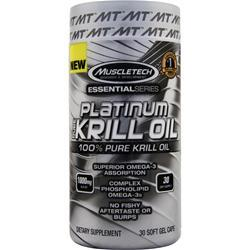 Muscletech Essential Series - Platinum Pure Krill Oil 30 sgels