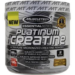 Muscletech Essential Series - Platinum 100% Creatine 400 grams
